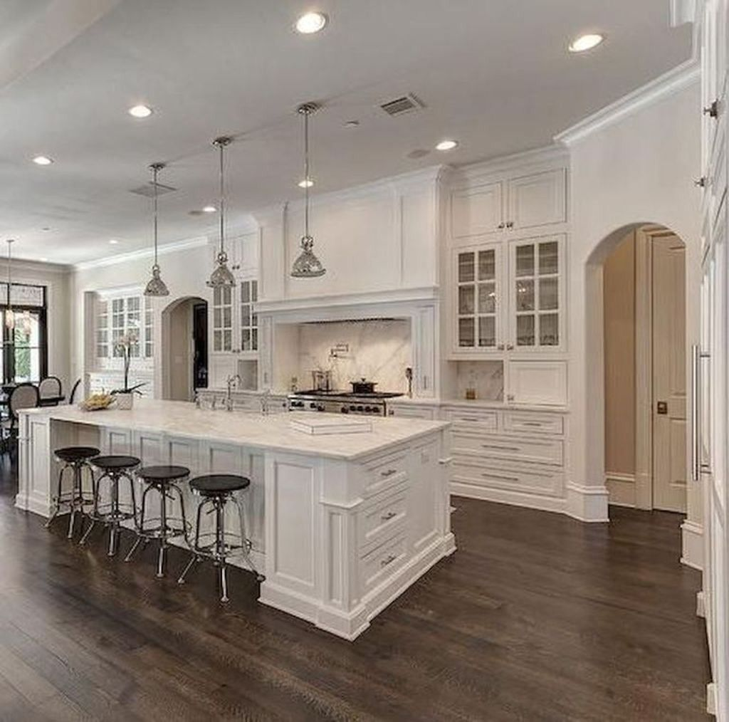 Cool 40 Magnificient White Kitchen Design Ideas For Your Home In