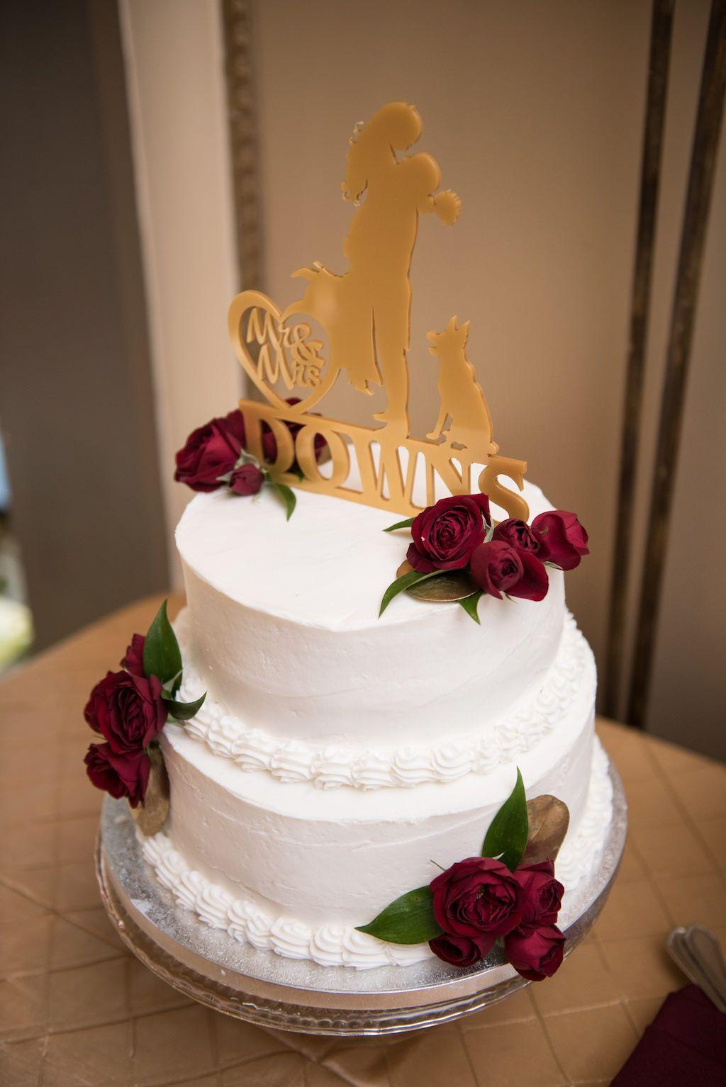 Garnet And Gold Florida State University Inspired Wedding