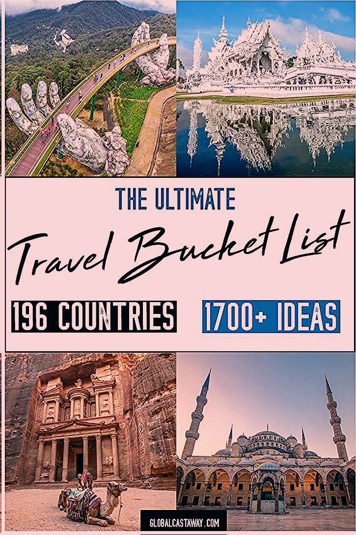 Photo of The Ultimate Travel Bucket List