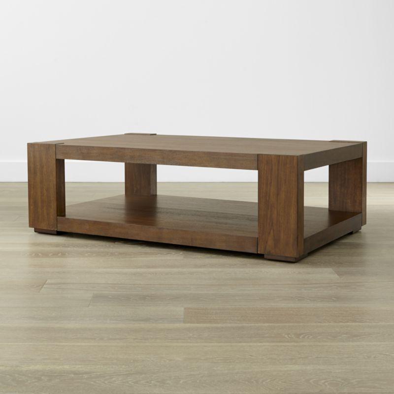 Lodge Coffee Table Coffee Table Coffee Table Crate And Barrel Furniture