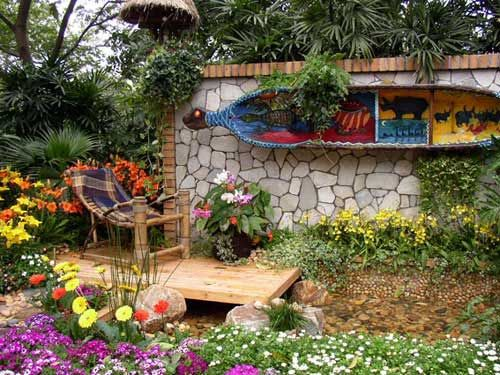 jardines rusticos | diseño de jardines | pinterest