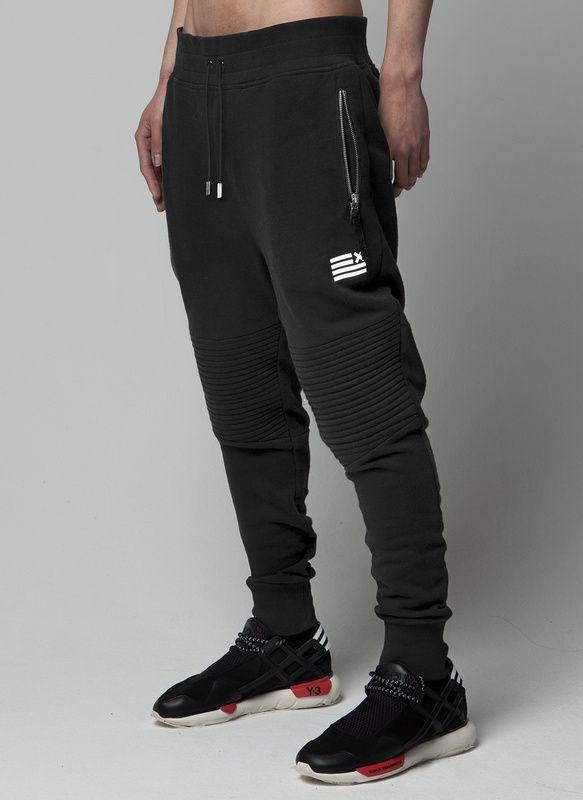 2 color negro gris harem tiro caído pantalones joggers negro deportes ropa  urbana vestidos basculador hip hop pantalones de chándal fresco en  Pantalones ... 683f4a9f52fc1