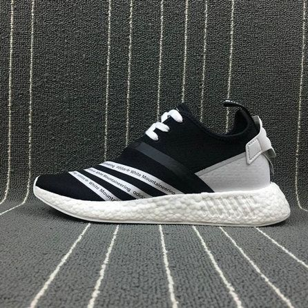 Cheap Priced Men White Mountaineering x Adidas NMd R2 PK Black White CG3648  For Sale 584f772a5