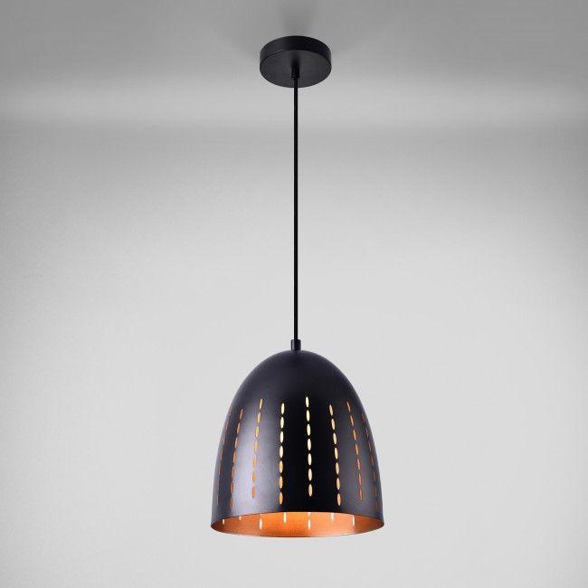 lux metal colgante de negra diseño proLámpara cobre dCxoeWrB