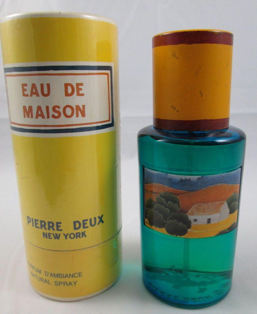 pierre deux eau de maison parfum d 39 ambiance spray 8 ounces. Black Bedroom Furniture Sets. Home Design Ideas