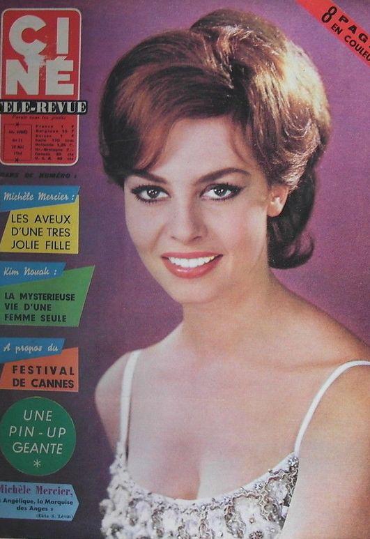 CINE REVUE MICHELE MERCIER 1964 Actrice française, Ciné