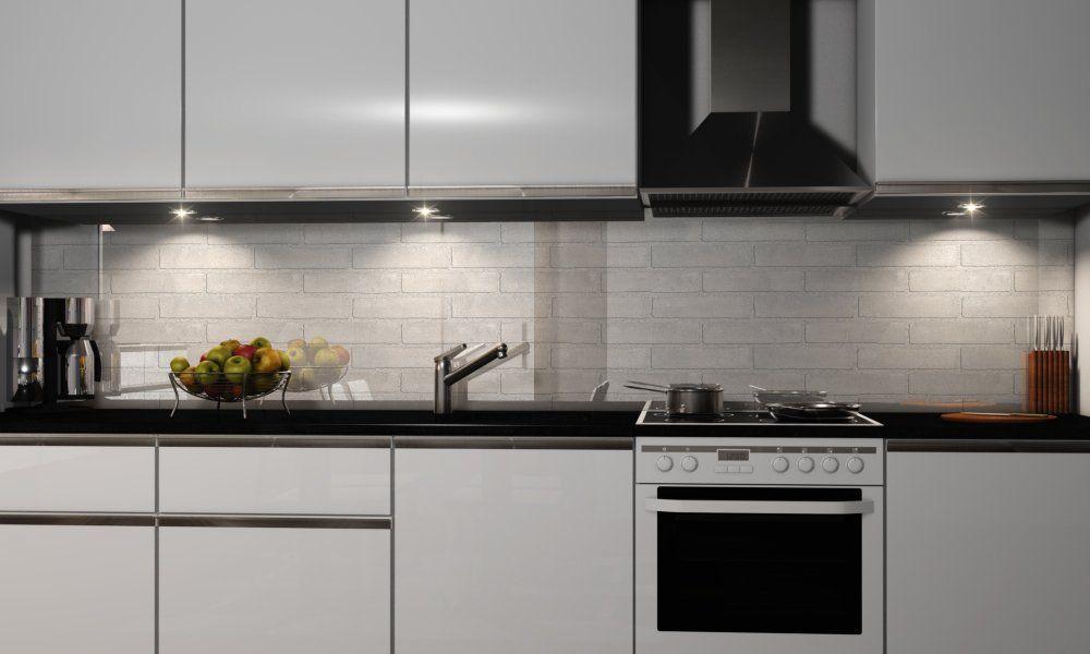 Küchenrückwand Premium Hart-PVC 0,4 mm selbstklebend Dekofolie ...