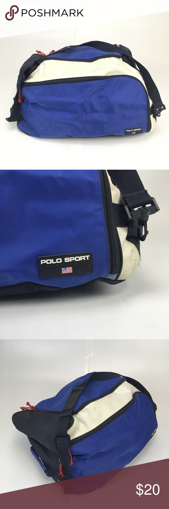 bf2d4cb7fb VTG Polo Sport Ralph Lauren Duffel Bag Vintage Polo Sport full size duffel  bag in good   useable condition. Always willing to do lower pricing on  bundle ...