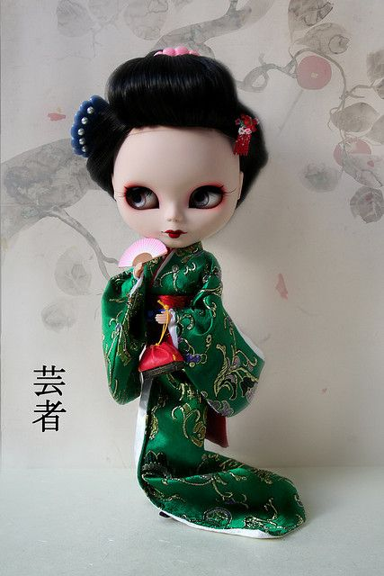 Sayuri Anniversary Custom Blythe | Flickr - Photo Sharing!