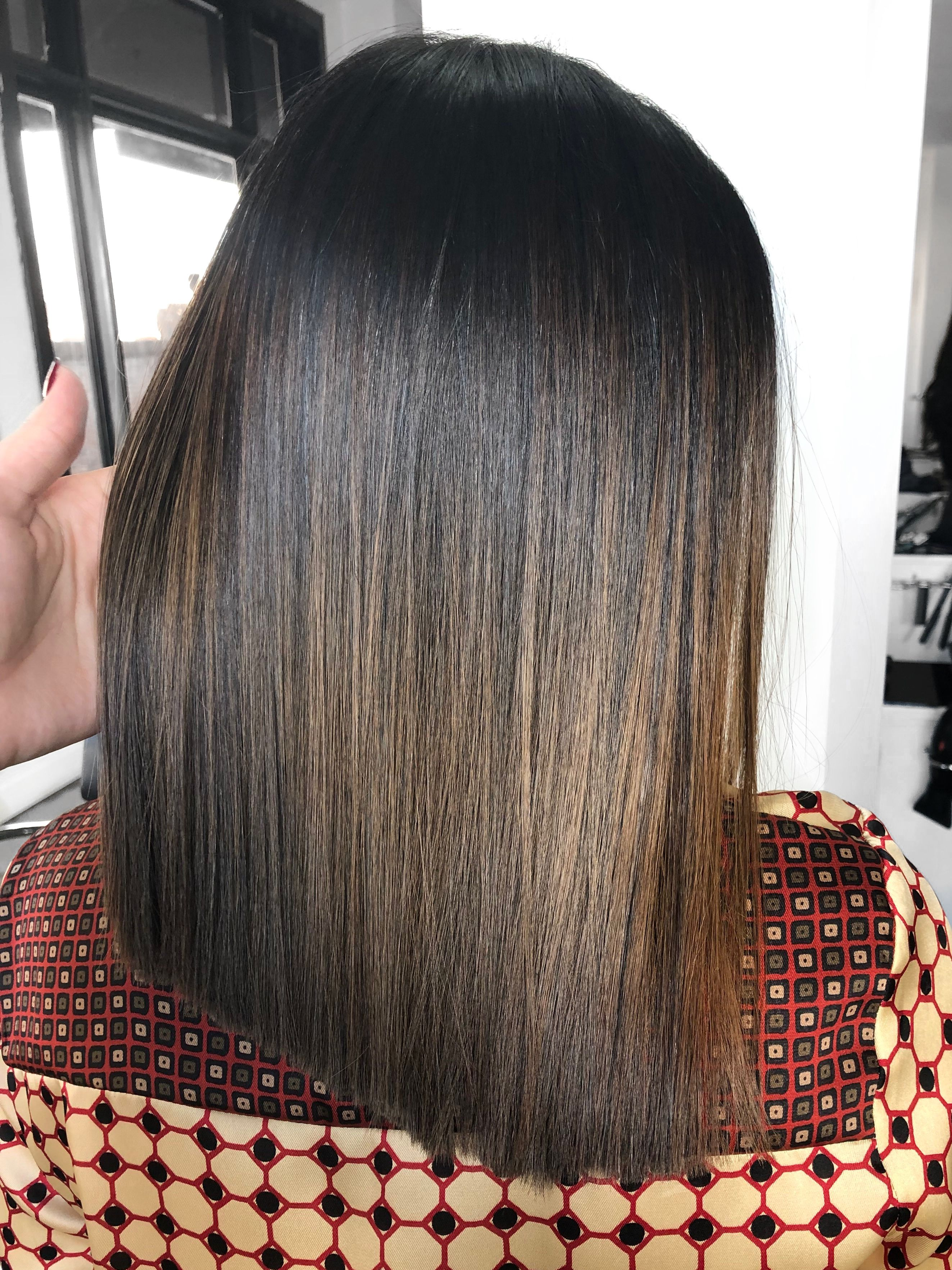 Pin By Csombok Nikoletta On Inspiration Blunt Hair Brown Ombre Balayage