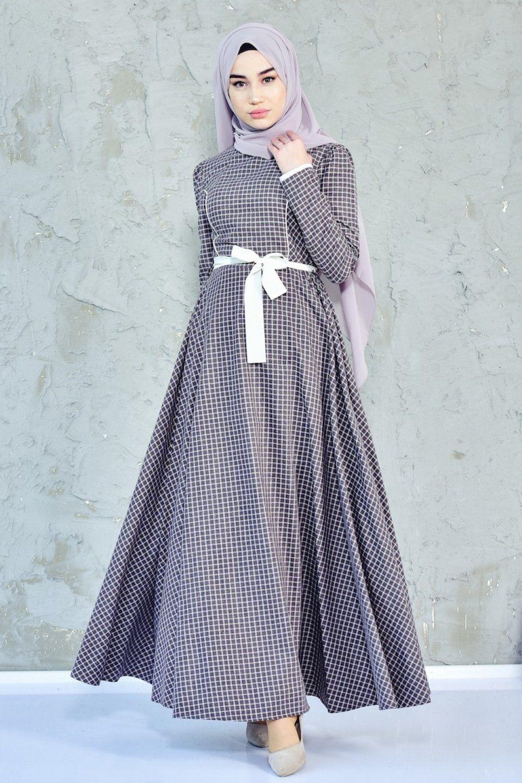 Sefamerve Cicekli Tesettur Elbise Modelleri Elbise Modelleri Elbise Maksi Elbiseler