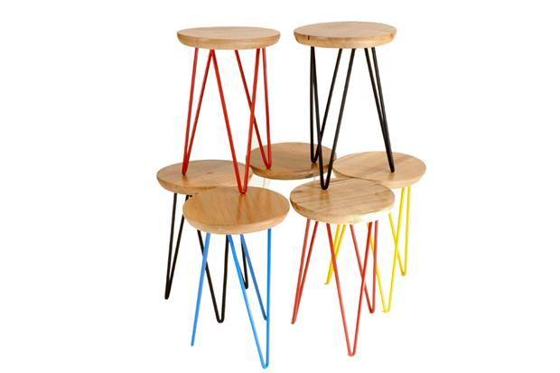 13 sillas y banquetas para un ambiente relajado | Muebles madera ...