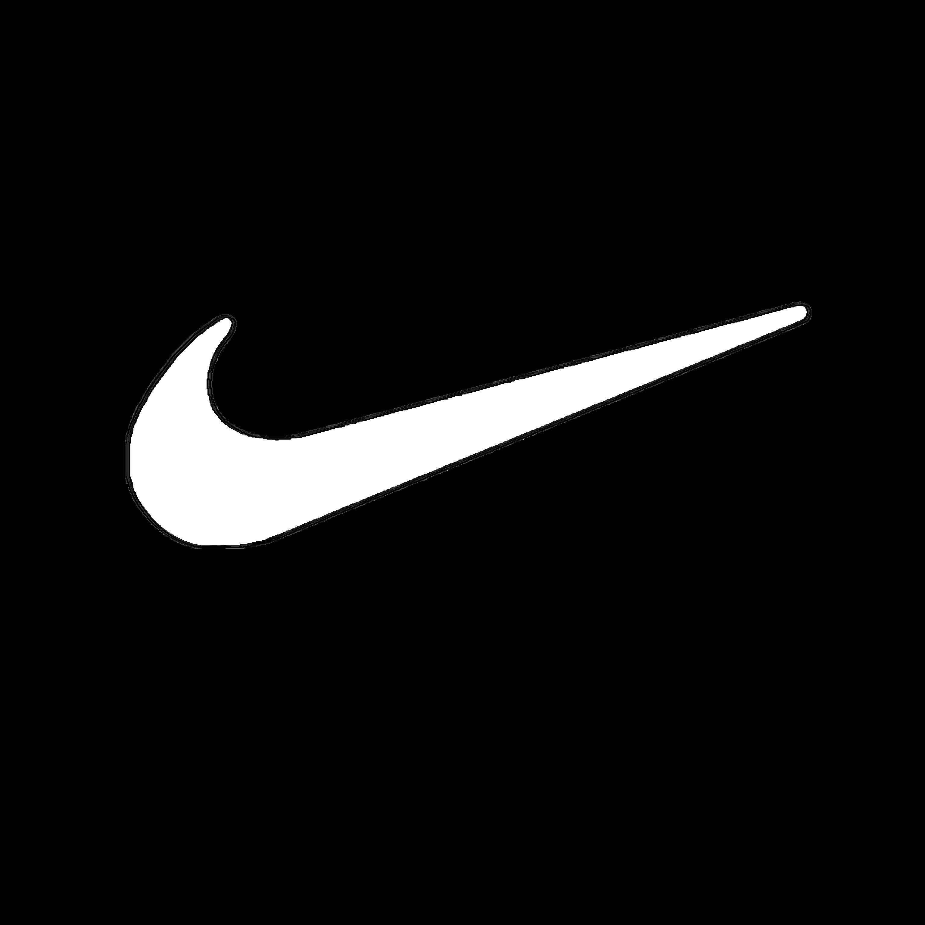 Smoth Nike Logo Outline Diy Embroidery Shirt Logo Outline Nike Logo