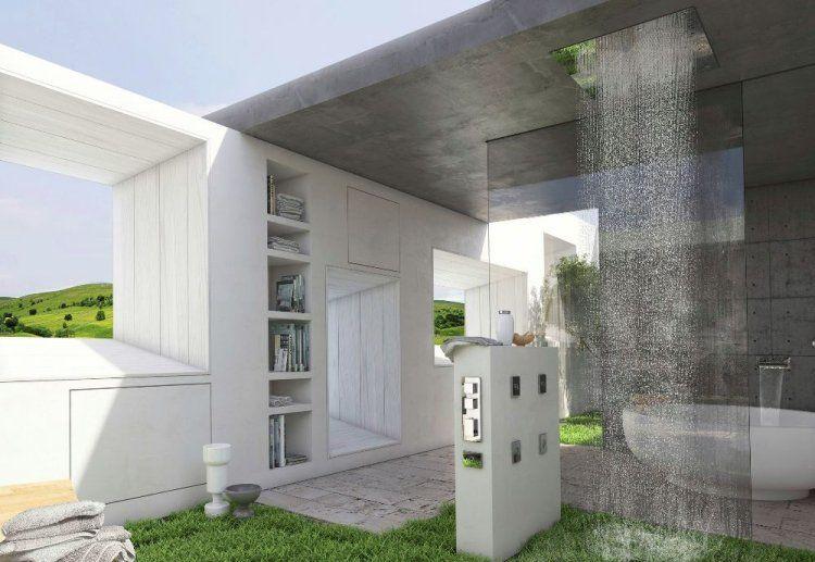 25 idées douche à l\u0027italienne pour une salle de bain moderne Coins - Salle De Bain Moderne Douche Italienne