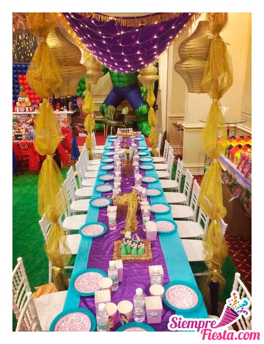 ideas bonitas para una fiesta de cumpleaos de jazamn jasmine de aladdin encuentra