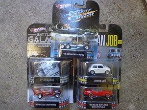 Greenlight M2 Machines Auto World Hot Wheels more Whats New In Diecast : Hot Wheels Retro Entertainment Movie TV G Case Set...