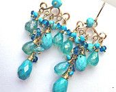 Ver Chandelier Earrings by DoolittleJewelry on Etsy