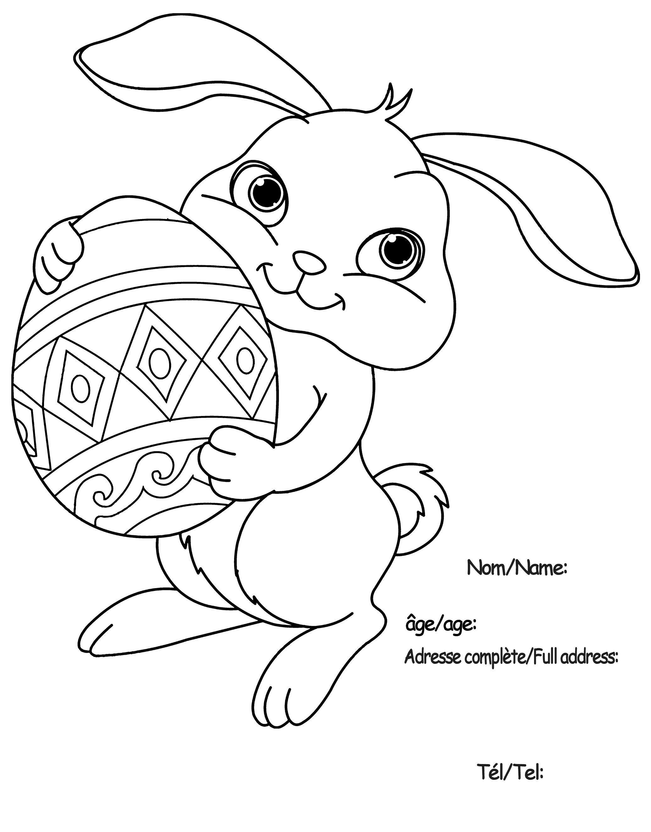 coloriage paques - Recherche Google   Páscoa/Easter   Pinterest