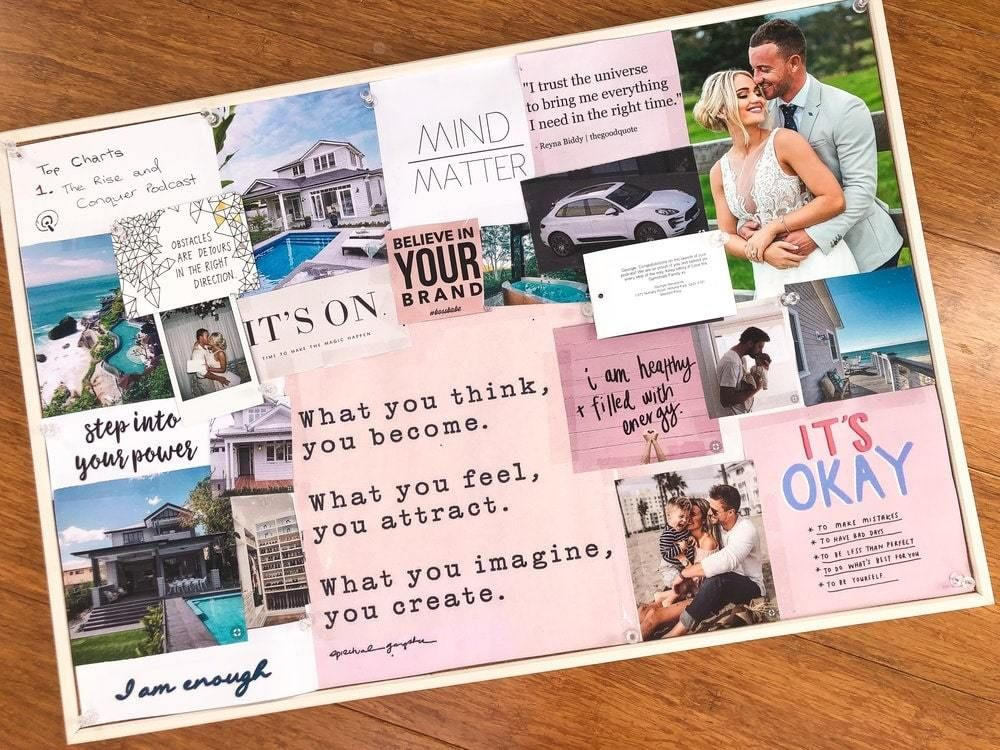 51 Vision Board Ideas for Your Important Goals in 2021 | Vision board inspiration, Vision board examples, Making a vision board