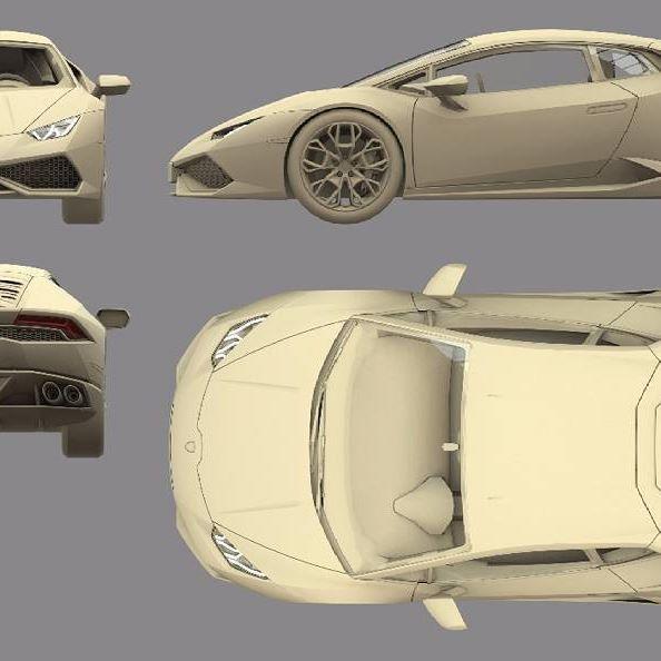 Blueprint 3d 3dcar 3danimation 3dprinting 3dmodel