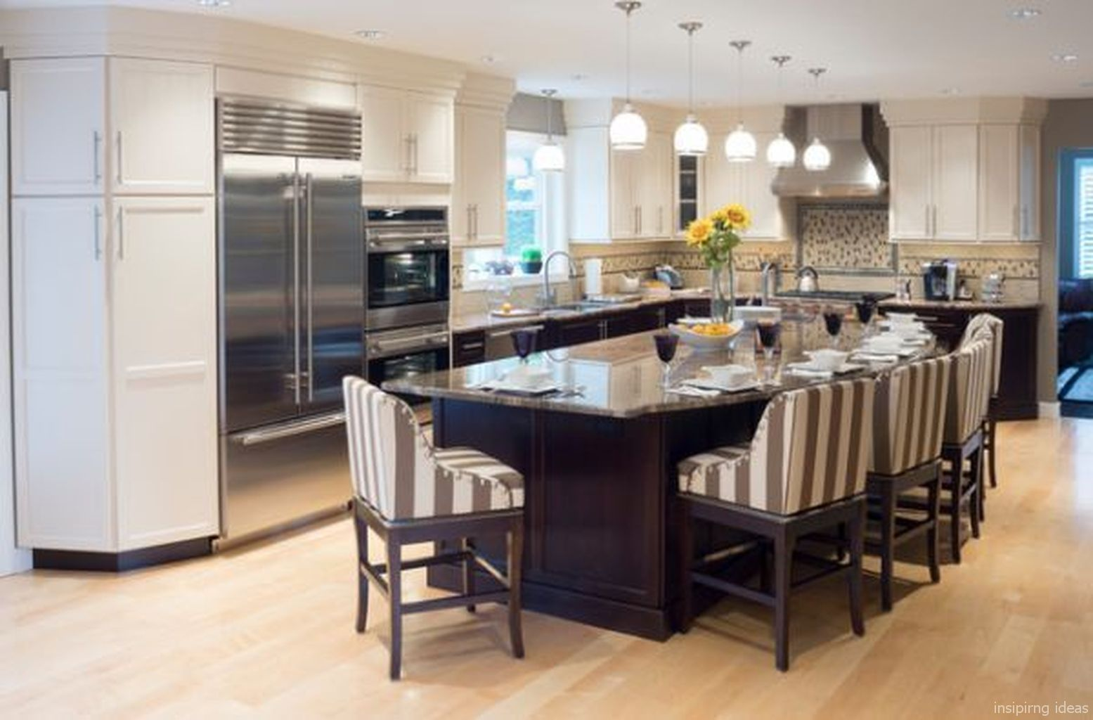 cool modern kitchen design ideas open concept 59 with images kitchen island with seating on kitchen island ideas cheap id=84511