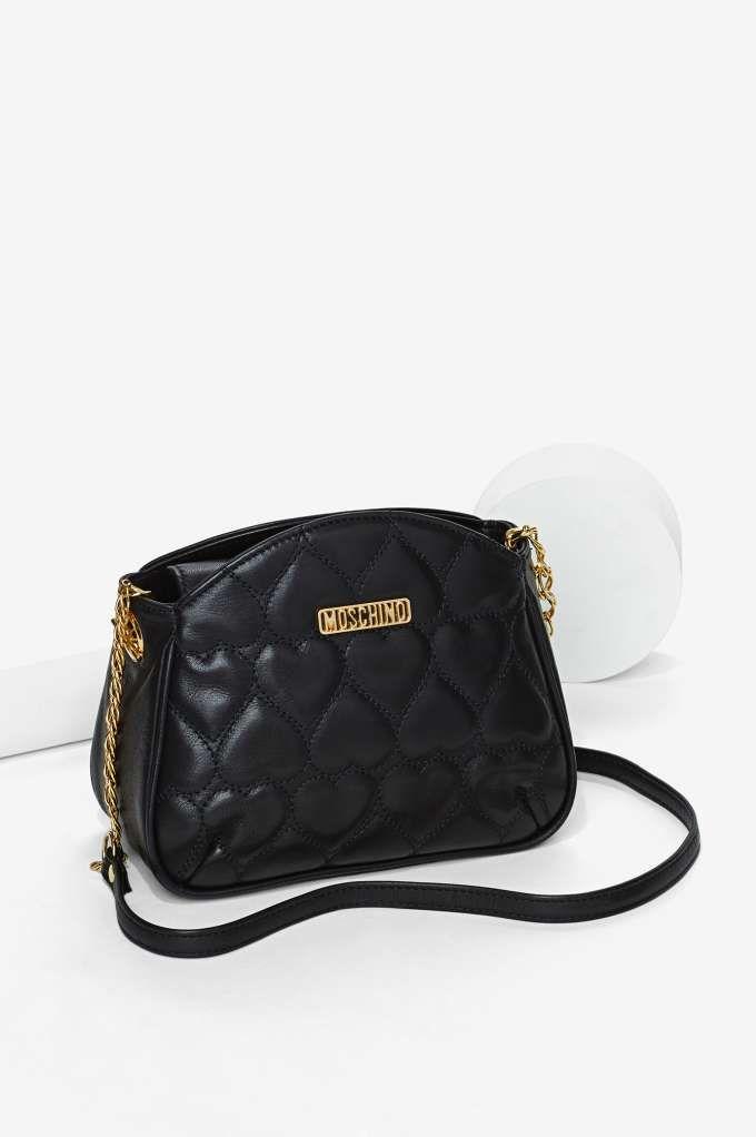 Vintage Moschino Leather Mini Bag | Shop Vintage at Nasty Gal