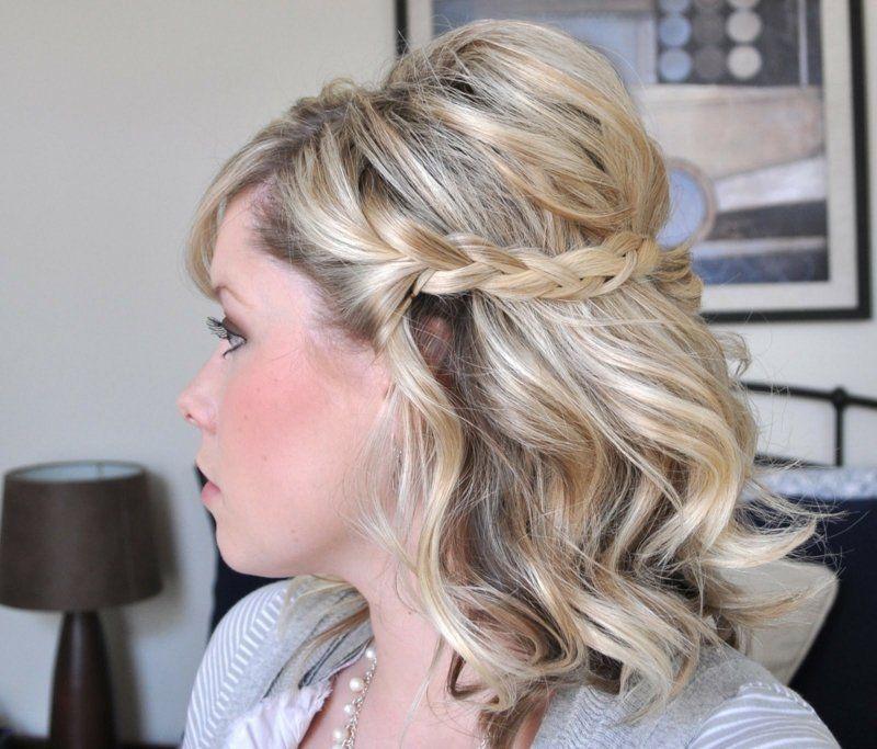Mittellanges haar frisuren locken