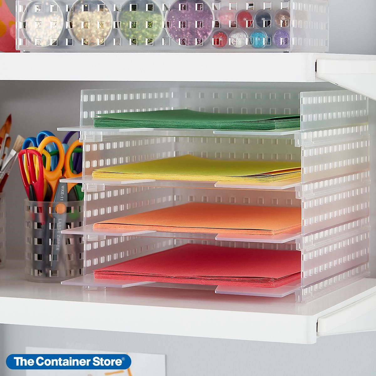 Like It Bricks Stackable Letter Tray In