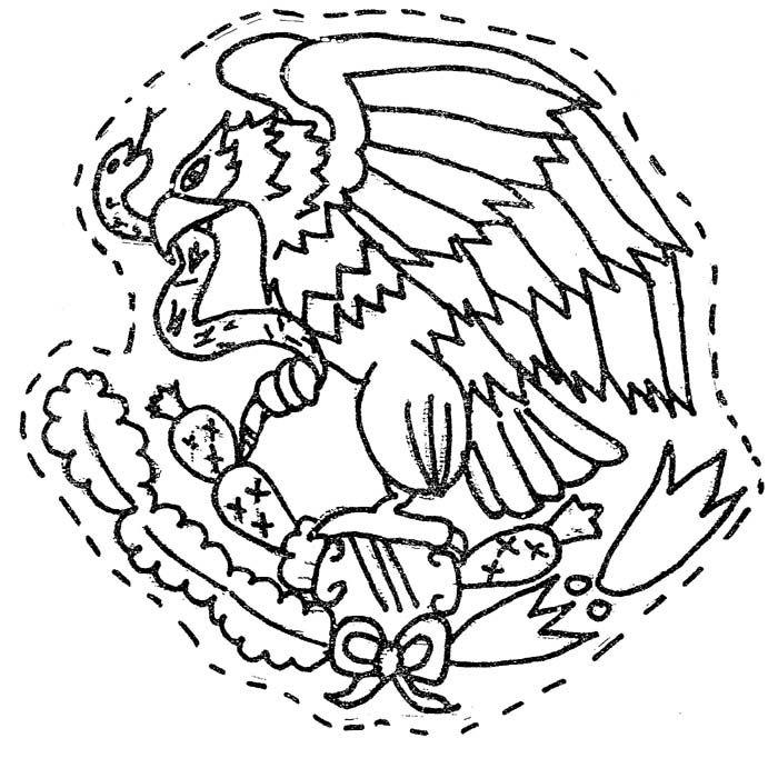 Escudo Nacional Mexicano Septiembre Preescolar Vida Escolar Escolares