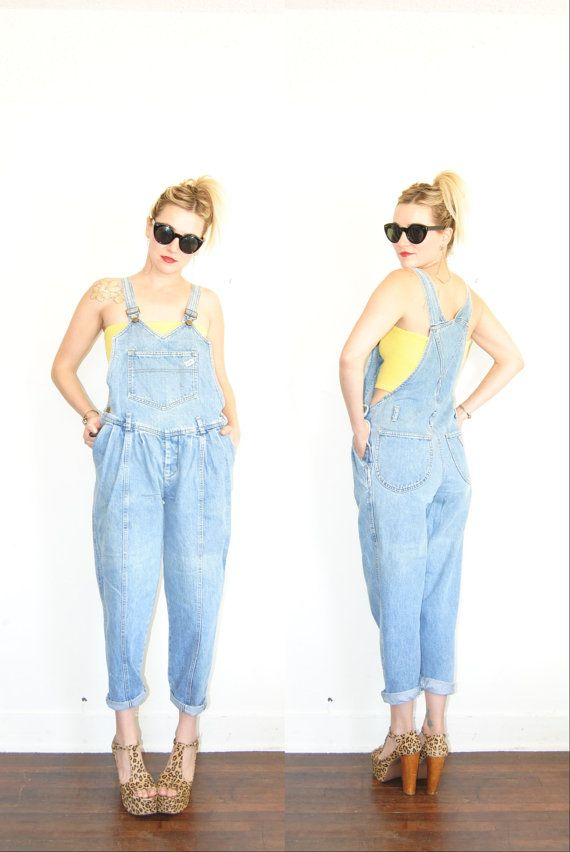 e017874c6bb Vintage Guess Jean Overall   80s Overalls   Vintage Guess   Guess Overalls    Guess Jumper   One Piece   Overalls on Etsy