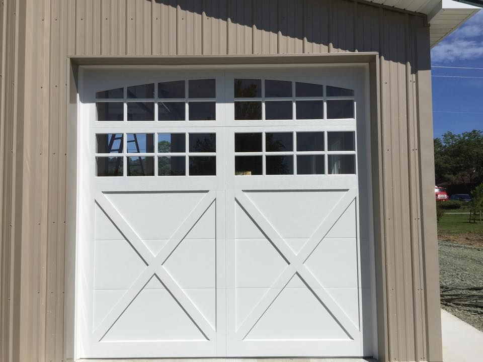 Garage Door We Installed On A Pole Building Chi Model 5334a Pre