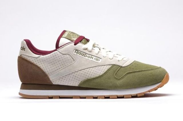 019b064a22e9b REEBOK CLASSIC LEATHER INT OP (CREAM OLIVE KHAKI)