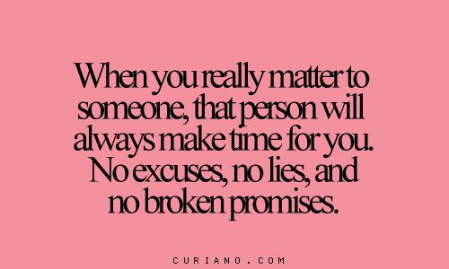 No excuses, no lies, no broken promises | Words to live by ...