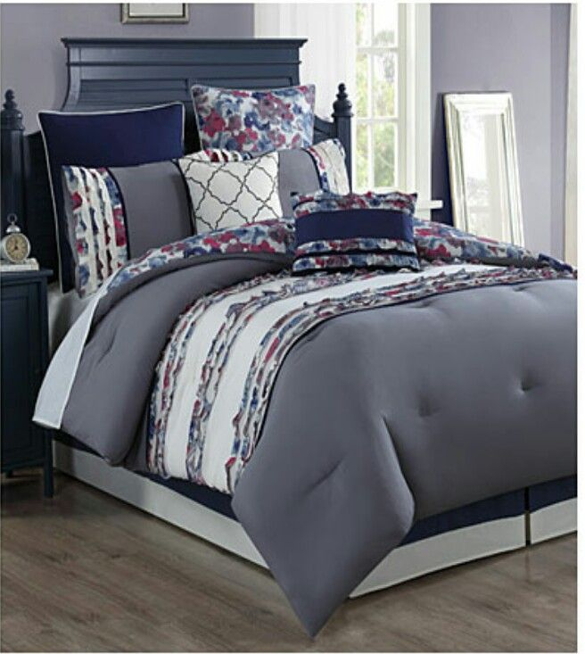 Leanne Marshall King 8 Piece Comforter Set Biglots King Size