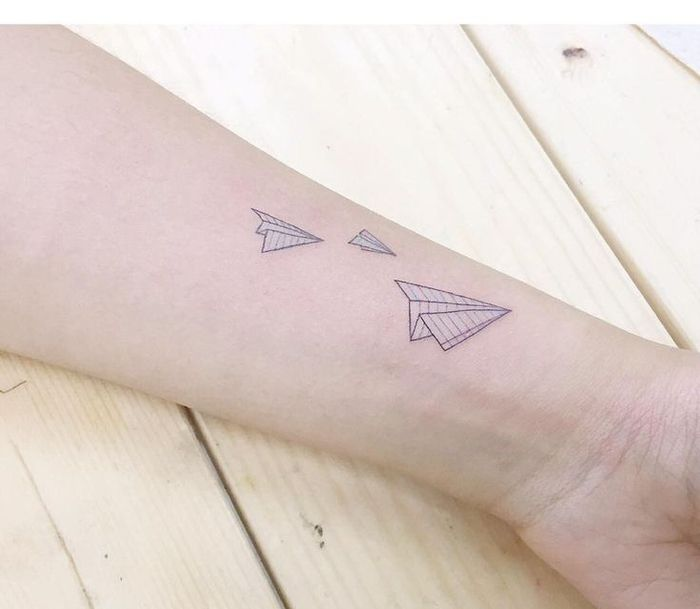 1001 Modeles Originaux De L Art De Tatouage Origami Tatoo