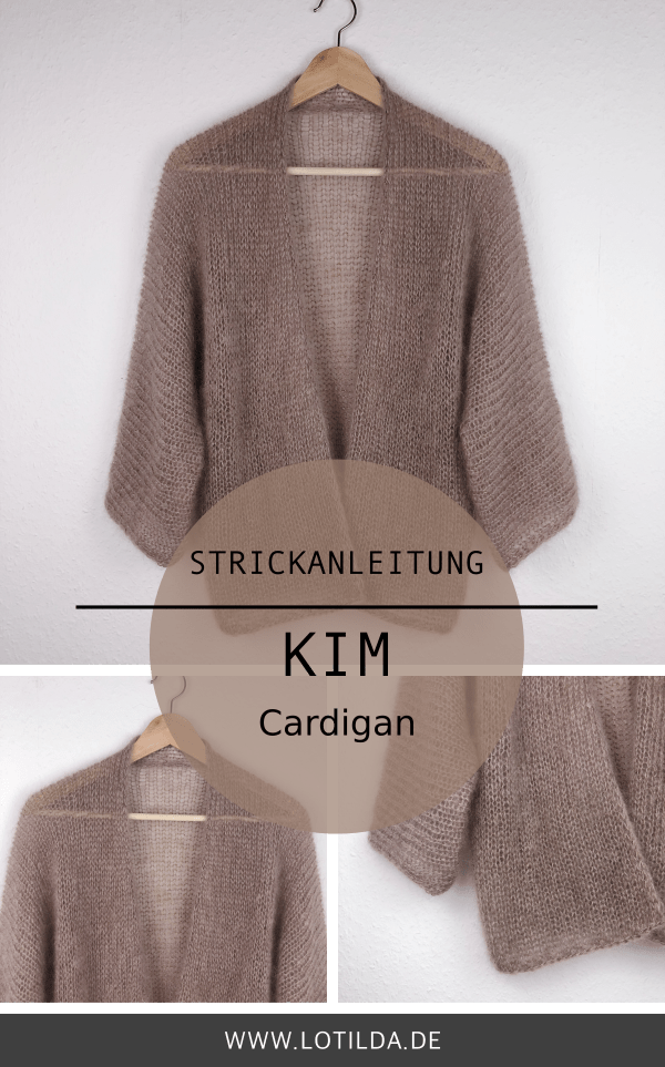 Photo of Strikkeinstruksjoner KIM Cardigan – Luftig sommerstrikkekofte • LOTILDA