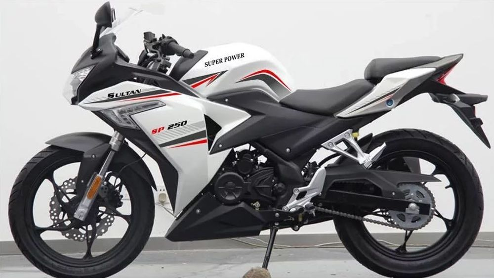 Super Power Sultan 250cc Sports Bike Launched In Pakistan Sport