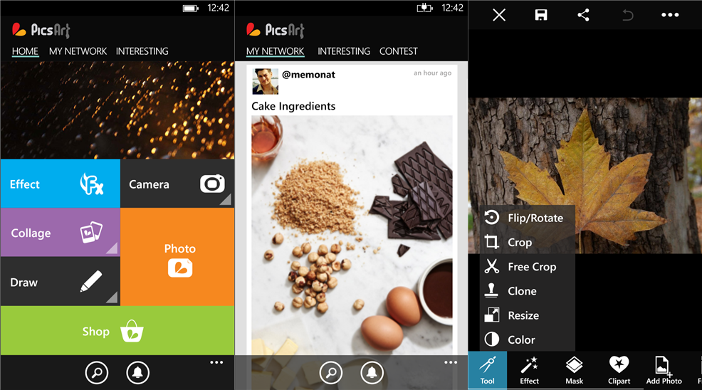 PicsArt photo editing application is now available for Windows Phone Store  Free photo editing software package
