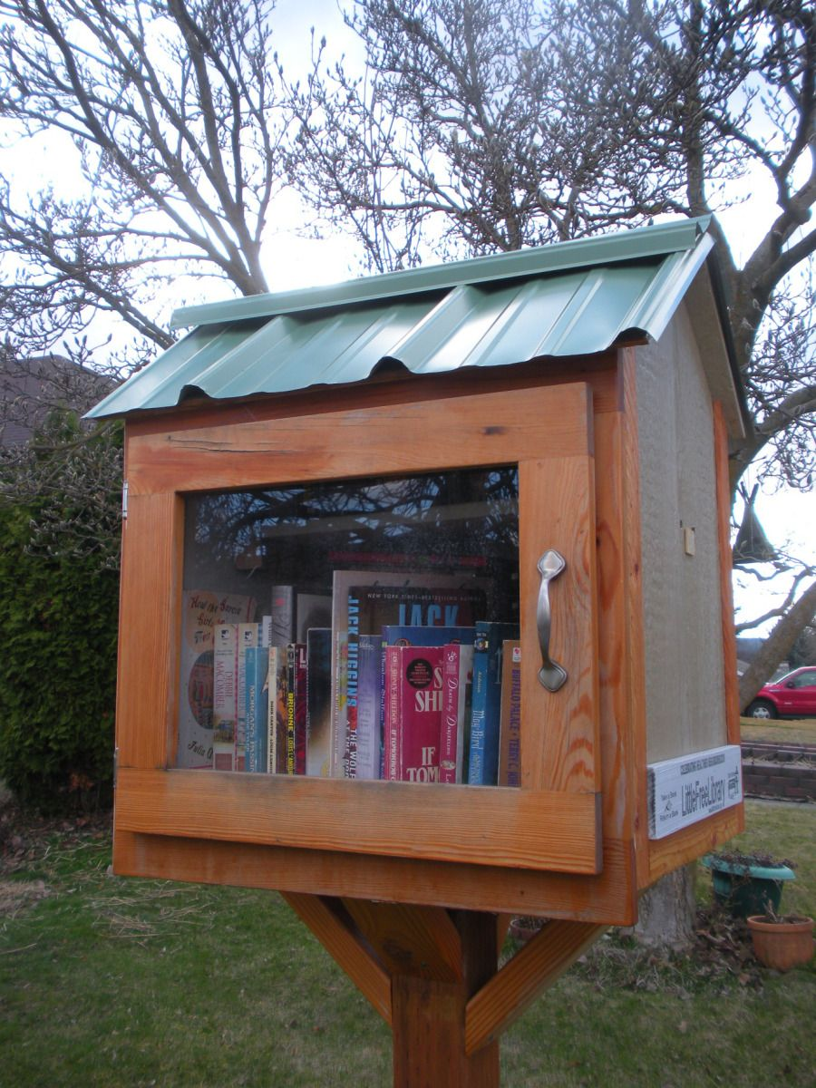 My Town Monday Little Free Libraries Free library