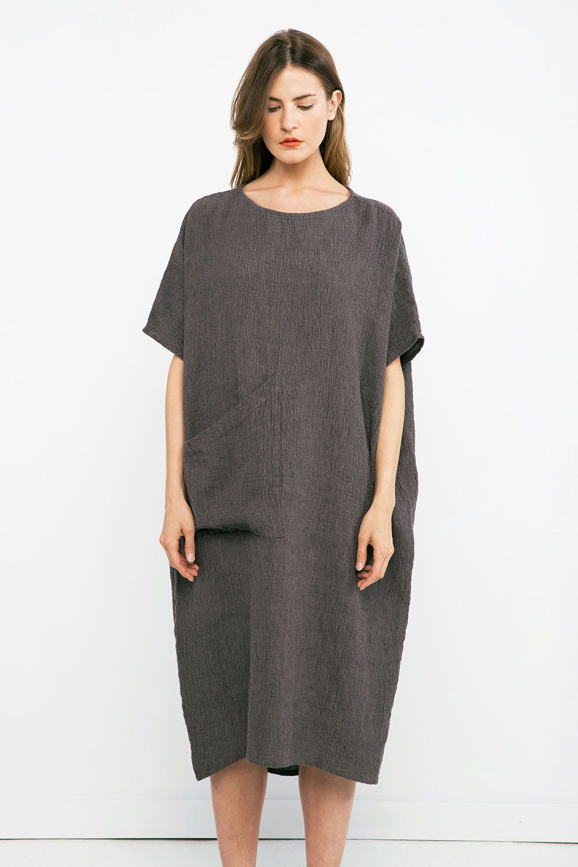 062b0de9b95 Harper Dress in Linen Gauze – Elizabeth Suzann