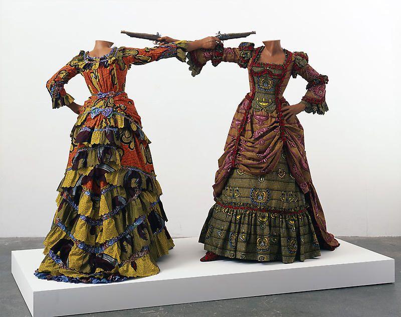 Designer: Yinka Shonibare, Figurative sculpture, sculpture of human form