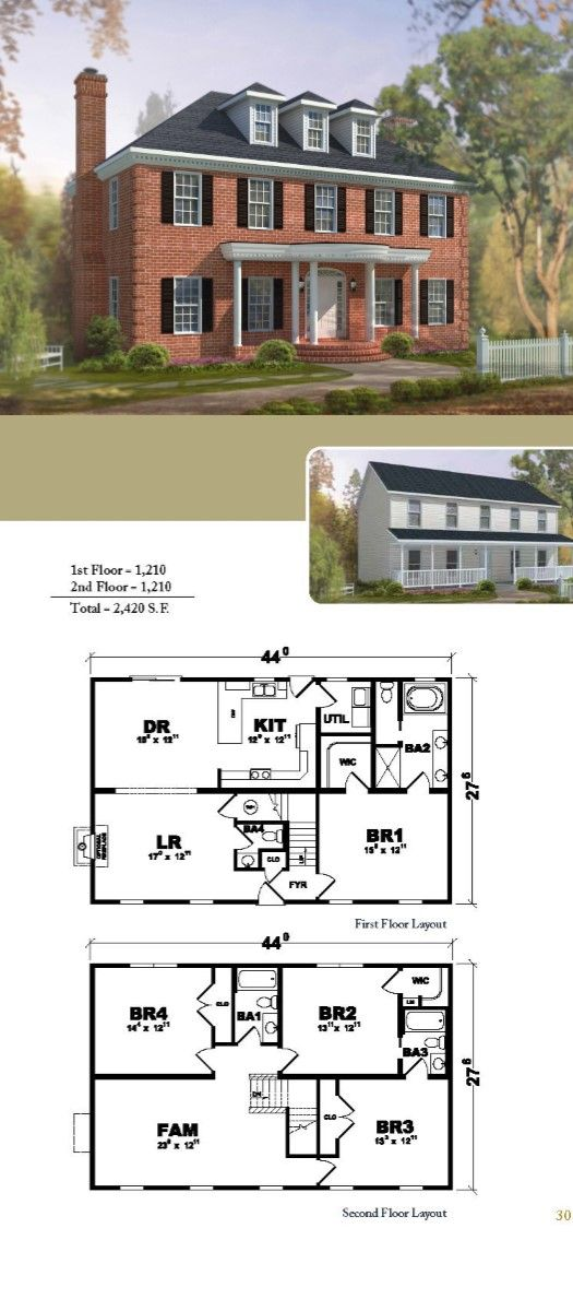 The Bellmeade A Two Story Home Lake House Plans Modular Home Plans Modular Homes