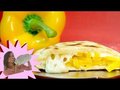 Schiacciata di patate farcita in padella - YouTube