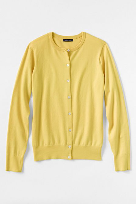 Women s Supima Cardigan Sweater from Lands  End  46835e3b7