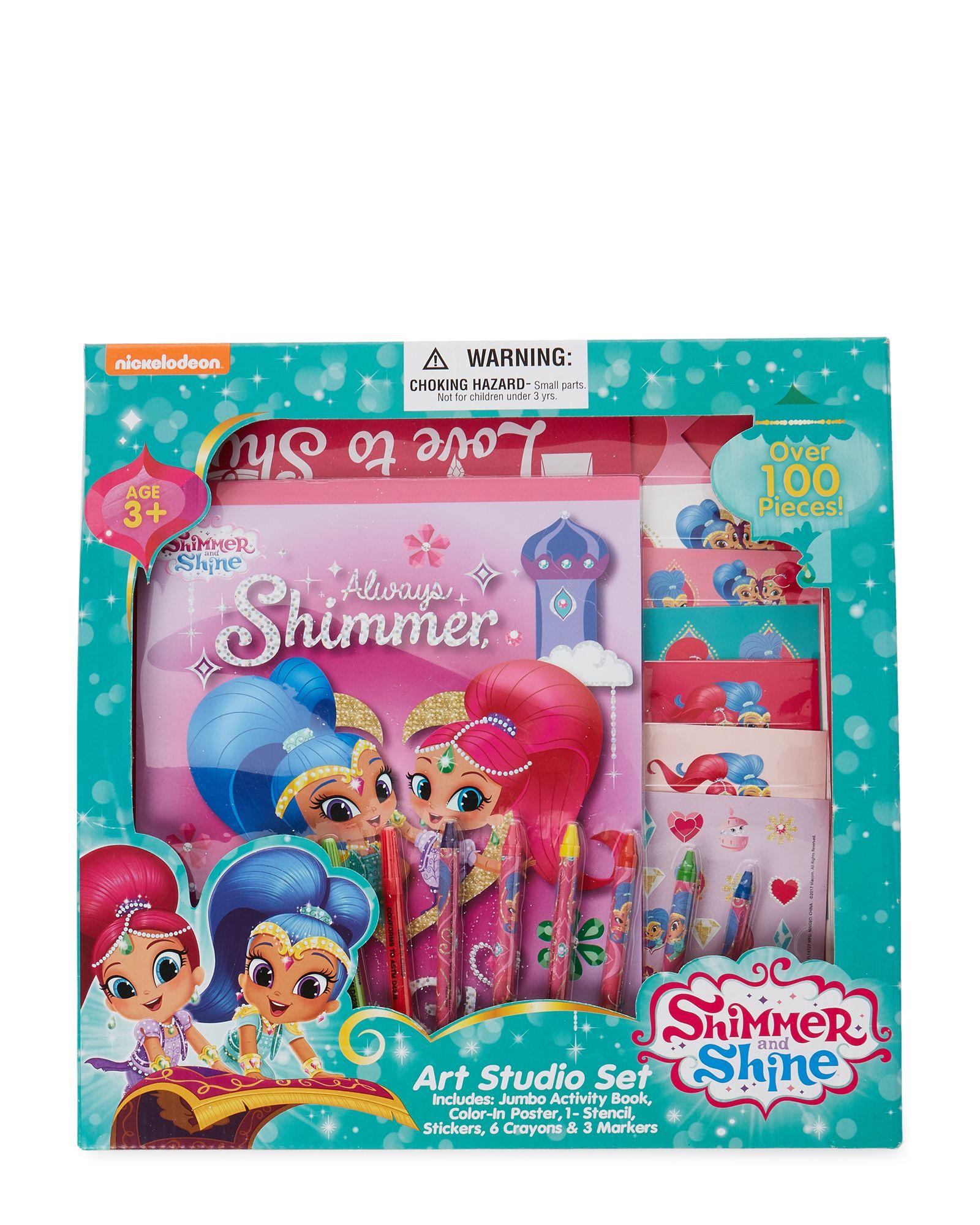 Shimmer And Shine Art Studio Set