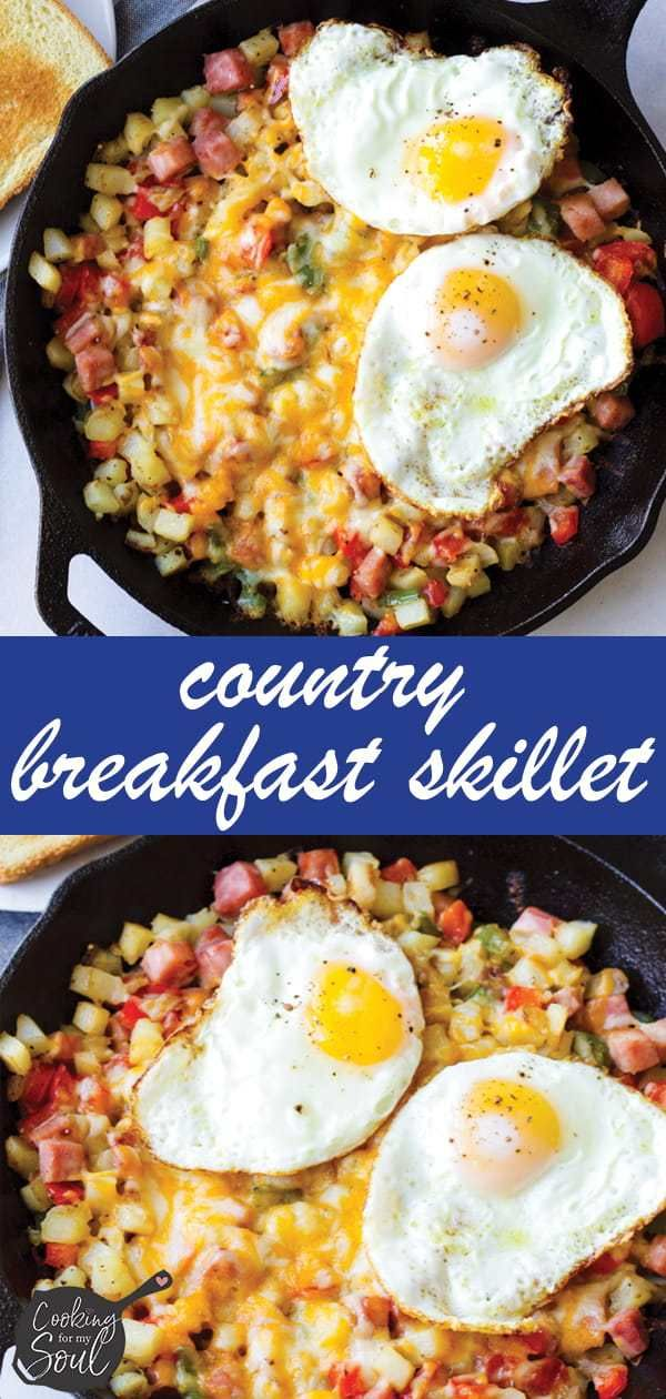 Easy Country Breakfast Skillet - Cooking For My Soul