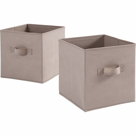 Free 2 Day Shipping On Qualified Orders Over 35 Buy Mainstays 11 High Collapsible Storage Bin Br Collapsible Storage Bins Cube Storage Fabric Storage Cubes
