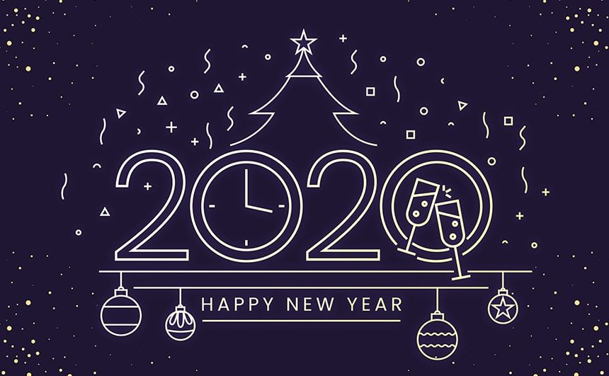 Happy New Year 2020 Pictures, Animated GIF, Images with