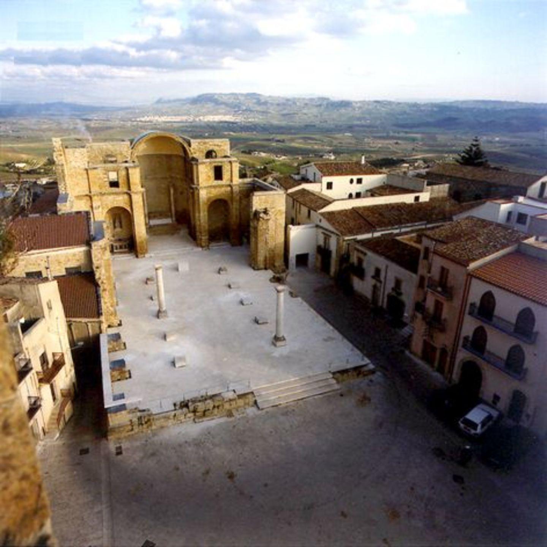 Piazza Alicia / Chiesa Madre di Salemi, Salemi 1999, Roberto Collovà, Álvaro Siza