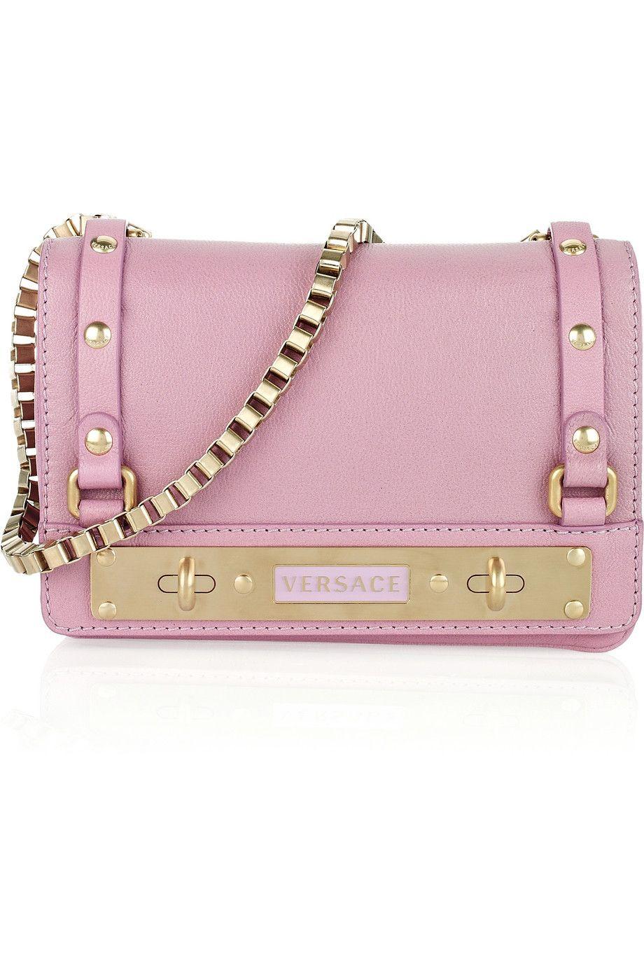 7b67baebeb5 VERSACE Pink Leather…   ◛̑*[ḦɐƝđ] ɱэ ðå [ḂɒǤ]*◛̑   Versa…